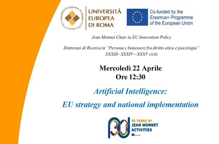 Artificial Intelligence: EU strategy and national implementation