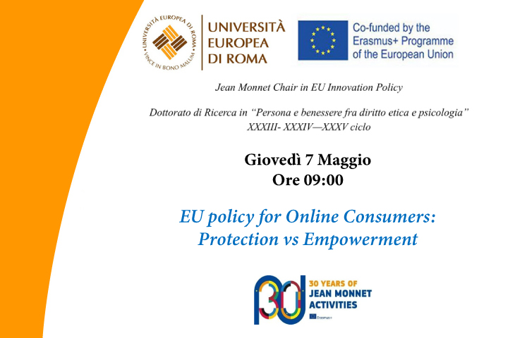 EU policy for Online Consumers: Protection vs Empowerment